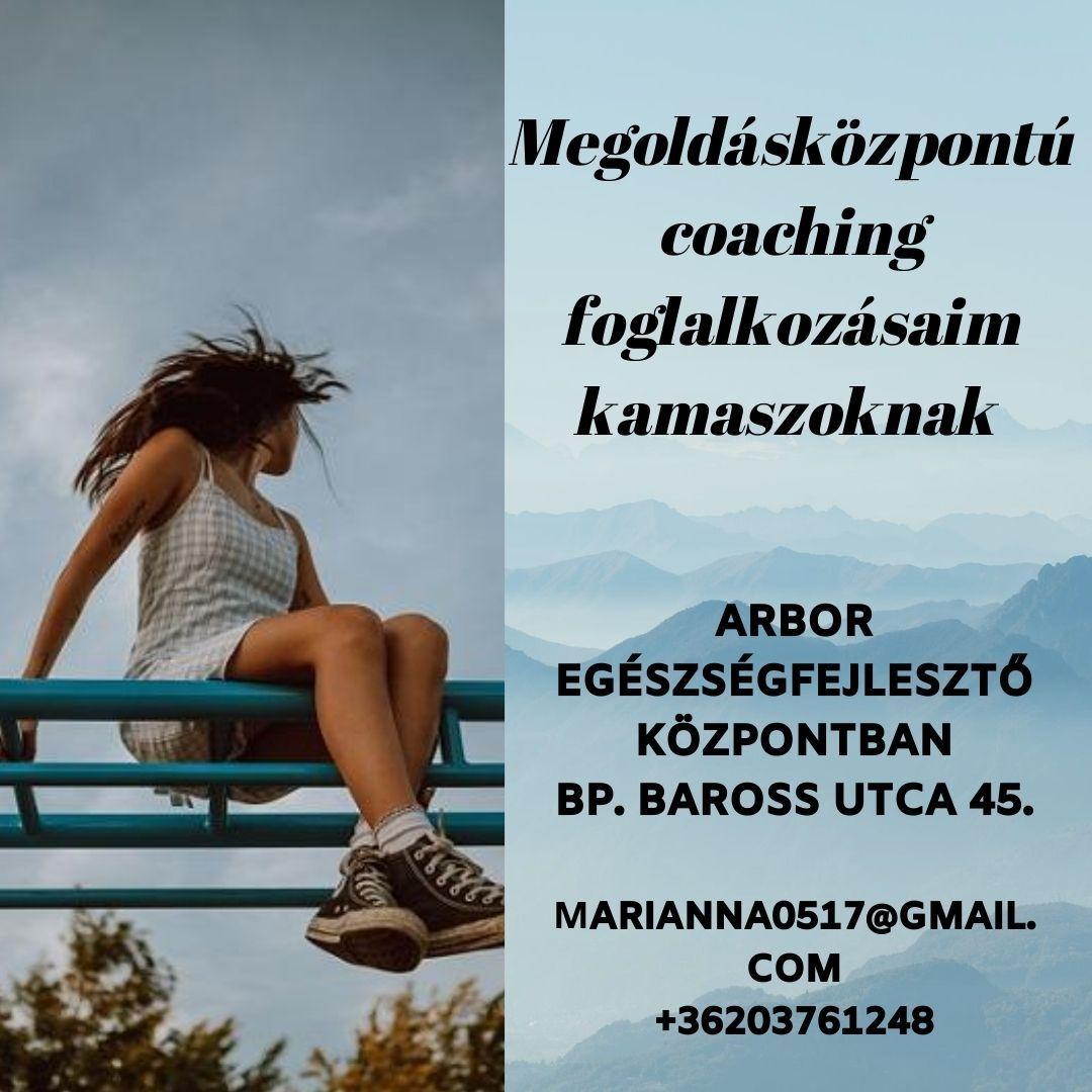 megoldás központú coaching foglalkozások