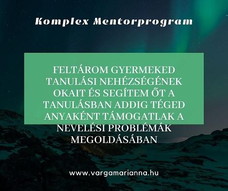 komplex mentorprogram Varga Marianna online coaching